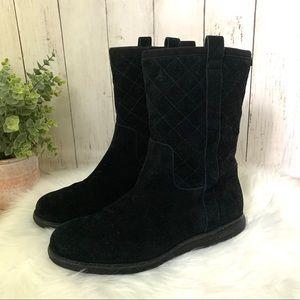 EUC Cole Haan Roper Grand Waterproof Quilted Boots